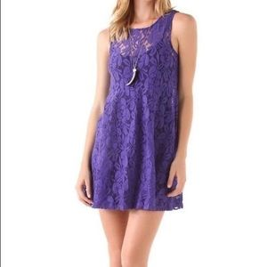 Miles of Lace Tank Dress